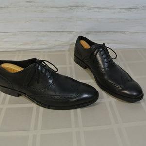 COLE HAAN Williams WINGTIP Black 11.5 Men Shoes